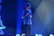 Recording artist Louis Tomlinson of One Direction performs onstage during 102.7 KIIS FMÂ's Jingle Ball 2015 Presented by Capital One at STAPLES CENTER on December 4, 2015 in Los Angeles, California.