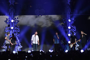 (L-R) Singers Niall Horan, Liam Payne, Louis Tomlinson and Harry Styles of One Direction perform onstage during 102.7 KIIS FMÂ's Jingle Ball 2015 Presented by Capital One at STAPLES CENTER on December 4, 2015 in Los Angeles, California.