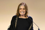 Gloria Steinem speaks onstage during 10th Annual DVF Awards at Brooklyn Museum on April 11, 2019 in New York City.