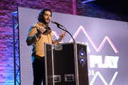 (EDITORIAL USE ONLY) Thomas Rhett speaks onstage at the 11th Annual CMA Triple Play Awards at Marathon Music Works on February 25, 2020 in Nashville, Tennessee.