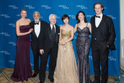 (L-R) Mary-Jane Lee, Placido Domingo, F. Paul Driscoll, Guest, Ying Fang, and Lachlan Glen attend the 11th Annual Opera News Awards at The Plaza Hotel on April 10, 2016 in New York City.