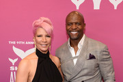 Rebecca King-Crews and Terry Crews attend the 11th Annual Shorty Awards on May 05, 2019 at PlayStation Theater in New York City.