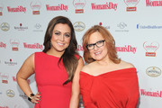 Lauren Manzo and Caroline Manzo of The Real Housewives of New Jersey arrive as American Heart Association celebrates the 10th Year of Go Red For Women at The WomanÂ's Day Red Dress Awards at Jazz at Lincoln Center on February 11, 2014 in New York City.