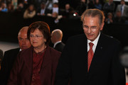 President of the IOC Jacques Rogge and wife Anne attends the Opening Ceremony of the 125th IOC Session at Teatro Colon on September 6, 2013 in Buenos Aires, Argentina.