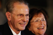 President of the IOC Jacques Rogge and wife Anne depart the Opening Ceremony of the 125th IOC Session at Teatro Colon on September 6, 2013 in Buenos Aires, Argentina.