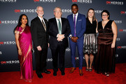 (L-R) 2018 Everyday Heroes Shanthi Viswanathan, Rabbi Jeffrey Myers, Dr. Jeff Cohen, James Shaw, Melissa Falkowski, and Ashley Kurth attend the 12th Annual CNN Heroes: An All-Star Tribute at American Museum of Natural History on December 09, 2018 in New York City.