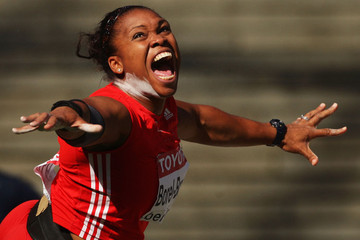 Cleopatra Borel-Brown 12th IAAF World Athletics Championships - Day Two