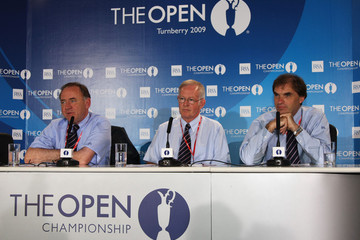Michael Brown Peter Dawson The 138th Open Championship - Previews