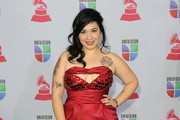 Singer Carla Morrison arrives at the 13th annual Latin GRAMMY Awards held at the Mandalay Bay Events Center on November 15, 2012 in Las Vegas, Nevada.