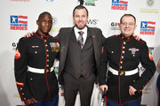 Corporal Kionte Storey, Kevin Dougherty, and Steven Schulz attend the 13th annual Stand Up for Heroes to benefit the Bob Woodruff Foundation at The Hulu Theater at Madison Square Garden on November 04, 2019 in New York City.