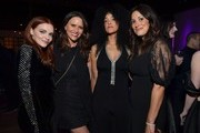 (L-R) Madeline Brewer, Amy Landecker, Bahia Watson, and Angelique Cabral attend the 13th annual Women In Film Female Oscar Nominees Party presented by Max Mara, Stella Artois, Cadillac, and Tequila Don Julio, with additional support from Vero Water at Sunset Room on February 07, 2020 in Hollywood, California.