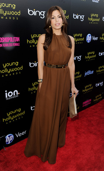 Actress Eva Mendes arrives at the 13th Annual Young Hollywood Awards at Club Nokia on May 20, 2011 in Los Angeles, California.