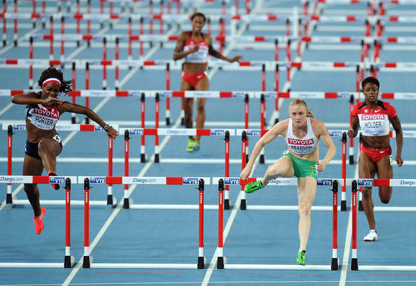 Dexter lee pictures - 13th iaaf world athletics championships