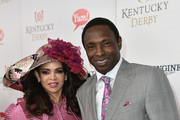 Cassandra Johnson and Avery Johnson attend the 143rd Kentucky Derby at Churchill Downs on May 6, 2017 in Louisville, Kentucky.