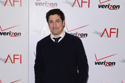 Actor Jason Biggs attends the 14th annual AFI Awards Luncheon at the Four Seasons Hotel Beverly Hills on January 10, 2014 in Beverly Hills, California.