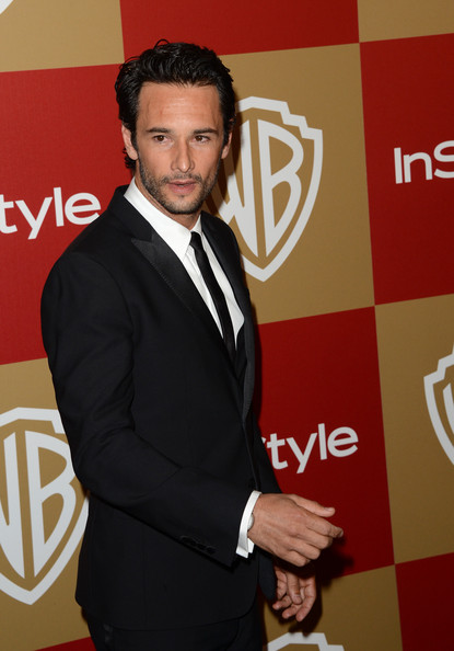 Actor Rodrigo Santoro attends the 14th Annual Warner Bros. And InStyle Golden Globe Awards After Party held at the Oasis Courtyard at the Beverly Hilton Hotel on January 13, 2013 in Beverly Hills, California.