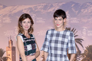 Director Alix Delaporte and actress Clotilde Hesme attend the photocall for the movie 'The Last Hammer Blow' during the 14th Marrakech International Film Festival on December 6, 2014 in Marrakech, Morocco.