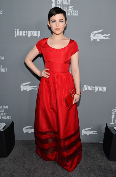 Actress Ginnifer Goodwin attends the 15th Annual Costume Designers Guild Awards with presenting sponsor Lacoste at The Beverly Hilton Hotel on February 19, 2013 in Beverly Hills, California.