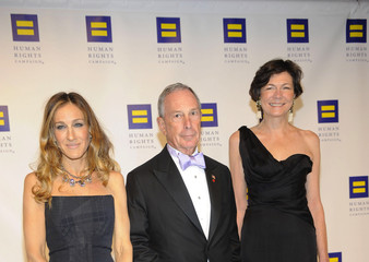 Michael Bloomberg Diana Taylor 15th Annual Human Rights Campaign National Dinner