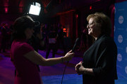 CEO & President, UNICEF USA Caryl M. Stern is being interviewed during 15th Annual UNICEF Gala Boston 2019 at The Castle at Park Plaza on May 23, 2019 in Boston, Massachusetts.