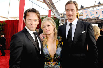 Anna Paquin Alexander Skarsgard 16th Annual Screen Actors Guild Awards - Red Carpet