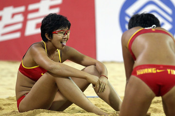 Huang Ying 16th Asian Games - Day 11: Beach Volleyball