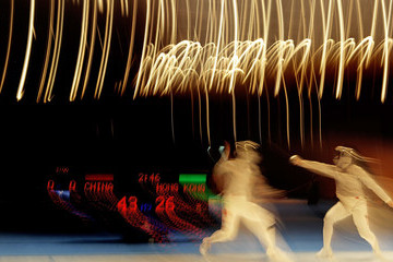 Sin Ying Au 16th Asian Games - Day 9: Fencing