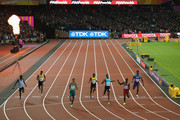 Wayde van Niekerk of South Africa crosses the line to win the Men's 400 metres final during day five of the 16th IAAF World Athletics Championships London 2017 at The London Stadium on August 8, 2017 in London, United Kingdom.