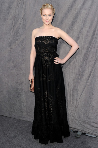 Actress Evan Rachel Wood arrives at the 17th Annual Critics' Choice Movie Awards held at The Hollywood Palladium on January 12, 2012 in Los Angeles, California.
