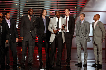 Kobe Bryant Derek Fisher 17th Annual ESPY Awards - Show