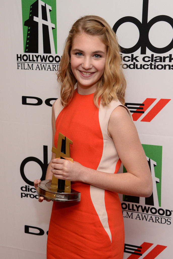 Sophie Nelisse Photos Photos Press Room At The Annual