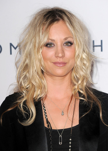 Actress Kaley Cuoco arrives at the 17th Annual Race to Erase MS event co-chaired by Nancy Davis and Tommy Hilfiger at the Hyatt Regency Century Plaza on May 7, 2010 in Los Angeles, California.