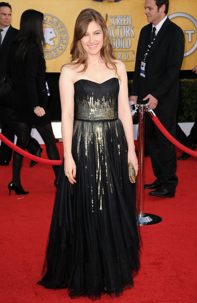 Actress Kelly Macdonald arrives at the 17th Annual Screen Actors Guild Awards held at The Shrine Auditorium on January 30, 2011 in Los Angeles, California.
