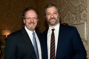 AFI President and CEO Bob Gazzale (L) and Judd Apatow attend the 18th Annual AFI Awards at Four Seasons Hotel Los Angeles at Beverly Hills on January 5, 2018 in Los Angeles, California.