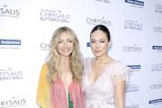 Rebecca Gayheart-Dane and Lindsay Price attend the 18th annual Chrysalis Butterfly Ball on June 01, 2019 in Brentwood, California.
