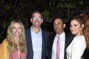 (L-R) Rebecca Gayheart-Dane, guest, Keven Undergaro and Maria Menounos attend the 18th annual Chrysalis Butterfly Ball on June 01, 2019 in Brentwood, California.