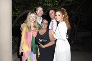 Rebecca Gayheart-Dane, John Dillon Award Recipient Suzette Donaldson, Keven Undergaro and Maria Menounos attend the 18th annual Chrysalis Butterfly Ball on June 01, 2019 in Brentwood, California.