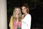 Rebecca Gayheart-Dane (L) and Maria Menounos attend the 18th annual Chrysalis Butterfly Ball on June 01, 2019 in Brentwood, California.