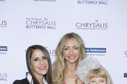 (L-R) Soleil Moon Frye, Rebecca Gayheart-Dane and Billie Beatrice Dane attend the 18th annual Chrysalis Butterfly Ball on June 01, 2019 in Brentwood, California.