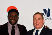 Reggie Bush and the Pump brothers attend the 18th Annual Harold and Carole Pump Foundation Gala at The Beverly Hilton Hotel on August 10, 2018 in Beverly Hills, California.