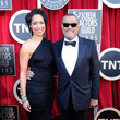 Lawrence Fishburne 18th Annual Screen Actors Guild Awards - Red Carpet