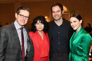 (L-R) Writer-producer Daniel Palladino, writer-producer Amy Sherman-Palladino, actor-writer-producer Bill Hader, and actor Rachel Brosnahan attend the 19th Annual AFI Awards at Four Seasons Hotel Los Angeles at Beverly Hills on January 4, 2019 in Los Angeles, California.