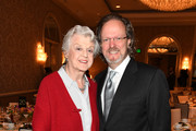 Actor Angela Lansbury (L) and AFI CEO Bob Gazzale attend the 19th Annual AFI Awards at Four Seasons Hotel Los Angeles at Beverly Hills on January 4, 2019 in Los Angeles, California.