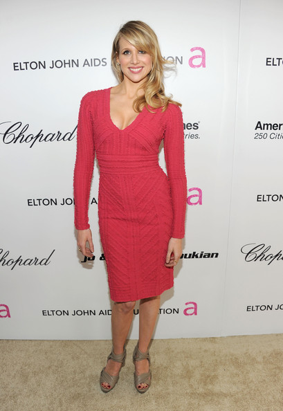 Actress Lucy Punch arrives at the 19th Annual Elton John AIDS Foundation Academy Awards Viewing Party at the Pacific Design Center on February 27, 2011 in West Hollywood, California.
