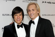 Alan Siegel and designer David Meister arrive at the 19th Annual Elton John AIDS Foundation Academy Awards Viewing Party at the Pacific Design Center on February 27, 2011 in West Hollywood, California.