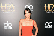 Actress Michelle Rodriguez attends the 19th Annual Hollywood Film Awards at The Beverly Hilton Hotel on November 1, 2015 in Beverly Hills, California.