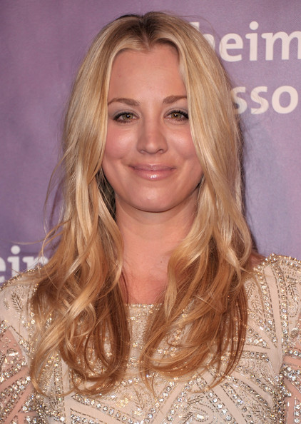 "Actress Kaley Cuoco arrives to the 19th Annual ""A Night at Sardi's"" benefitting the Alzheimer's Association on March 16, 2011 in Beverly Hills, California."