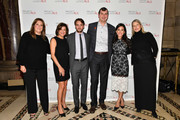 (L-R) Meredith Estess, guest, Vincent Piazza, Chris Combs, Gena Combs, and Valerie Estess attend the 19th Annual Project ALS Benefit Gala at Cipriani 42nd Street on October 25, 2017 in New York City.