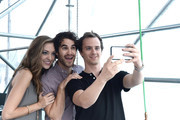 Performers attend the 1st Annual Elsie Fest outdoor musical festival for showtunes  at Pier 97 on September 27, 2015 in New York City.