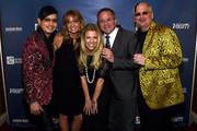 (L-R) Co-host Newman Arndt, Hope Fisher, Tracie Hamilton of J/P Haitian Relief Organization, Vice President, General Manager at Grand Ole Opry Pete Fisher, and co-host Johnathon Arndt attend the 1st Annual Nashville Shines for Haiti concert benefiting J/P Haitian Relief Organization - Day 2 hosted by Johnathon Arndt and Newman Arndt on April 27, 2016 in Nashville, Tennessee.